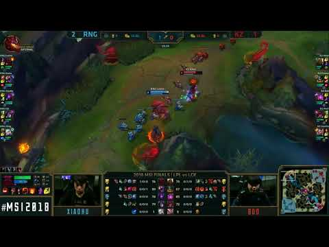 [S-VOD Review] KingZone vs RNG MSI Finals G4 ft. Fnatic`Bwipo