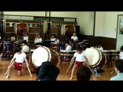 宝保育園 和太鼓