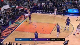 1st Quarter, One Box Video: Phoenix Suns vs. Detroit Pistons