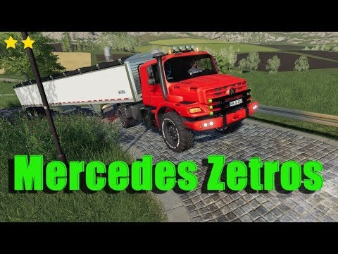 Mercedes Zetros Red v1.0 Beta