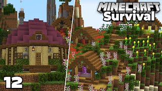 Let's Play Minecraft Survival : Starting the Flower Forest Village!