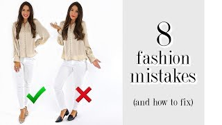 Video 8 Fashion Mistakes You're Probably Making! *must-see* MP3, 3GP, MP4, WEBM, AVI, FLV Agustus 2019