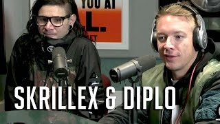 Diplo&Skrillex Talk Dates W/ Katy Perry, Paris Hilton DJ'ing&New Single!