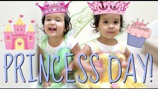 MIYA AND KEIRA'S PRINCESS DAY! - June 02, 2016 -  ItsJudysLife Vlogs