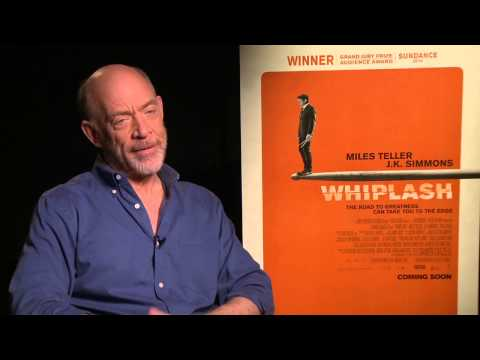 Whiplash: J K  Simmons Exclusive Interview