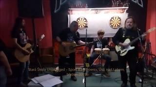 Video Stará Škola Unplugged - Tvrz live