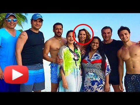 Salman Khan Goes Shirtless, Holidaying With Iulia