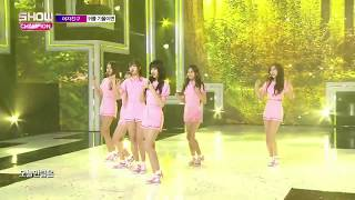 Video GFRIEND mistake while performing Love Whisper live MP3, 3GP, MP4, WEBM, AVI, FLV September 2017