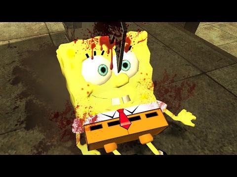 "I KILLED SPONGEBOB   Gmod Sandbox ""I Killed #72"""