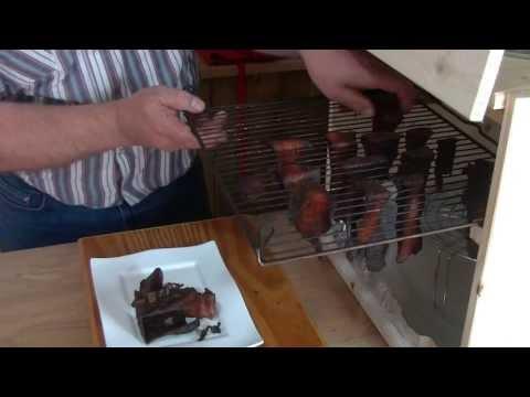 Teriyaki Turky Jerky , homemade Dehydrator , recipe video littleGasthaus