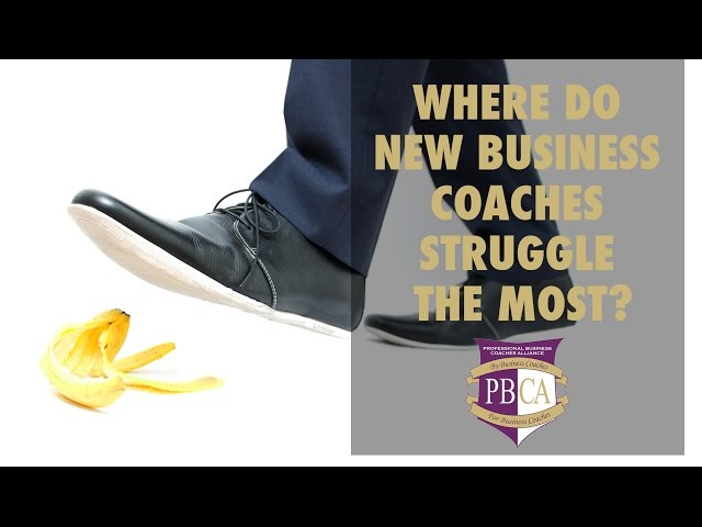 Where Do New Business Coaches Struggle Most