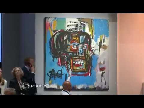 Basquiat portrait sold for record $110.5 million USD