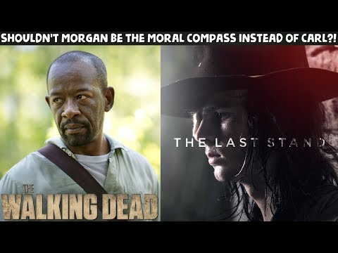 TWD Season 8 Episode 9 What if Morgan TOOK Carl's PLACE?!