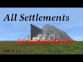 All Settlements in Divide and Conquer V 1.2 (Custom Battles only)