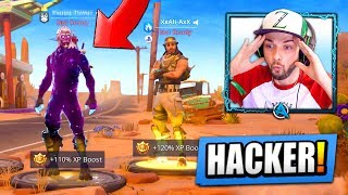 Video I found a HACKER with *UNRELEASED* Fortnite skins... MP3, 3GP, MP4, WEBM, AVI, FLV Agustus 2018