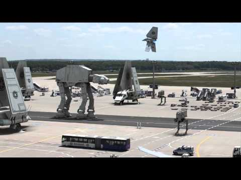 Leaked Star Wars Airport