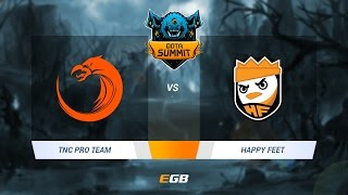 TNC Pro Team vs Happy Feet, Game 3, Dota Summit 7 SEA Qualifier