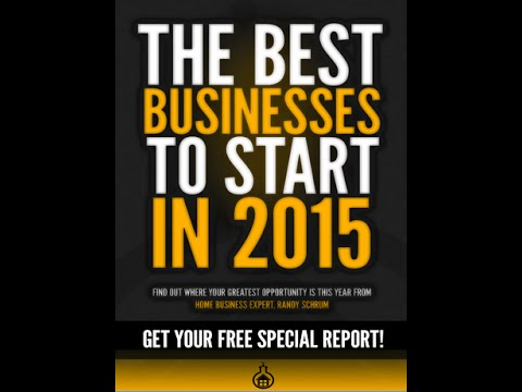 Best home business for 2015 report