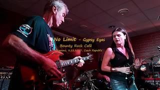 Video No Limit - Gypsy Eyes, 8.12.2017 Bounty Rock Cafe, Olomouc, CZ