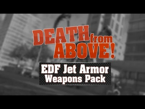 Jet Armor Weapons Pack