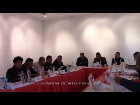 Sesión Ordinaria No. 27 de Ayuntamiento 10 de diciembre de 2016