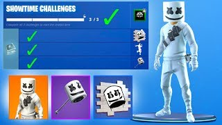 How To Get FREE MARSHMELLO REWARDS in Fortnite..