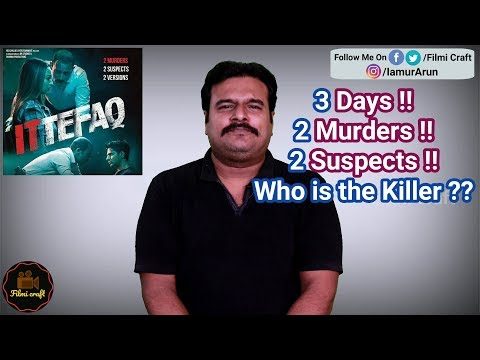 Ittefaq (2017) Bollywood Mystery thriller Movie Review in Tamil by #Filmicraft Arun