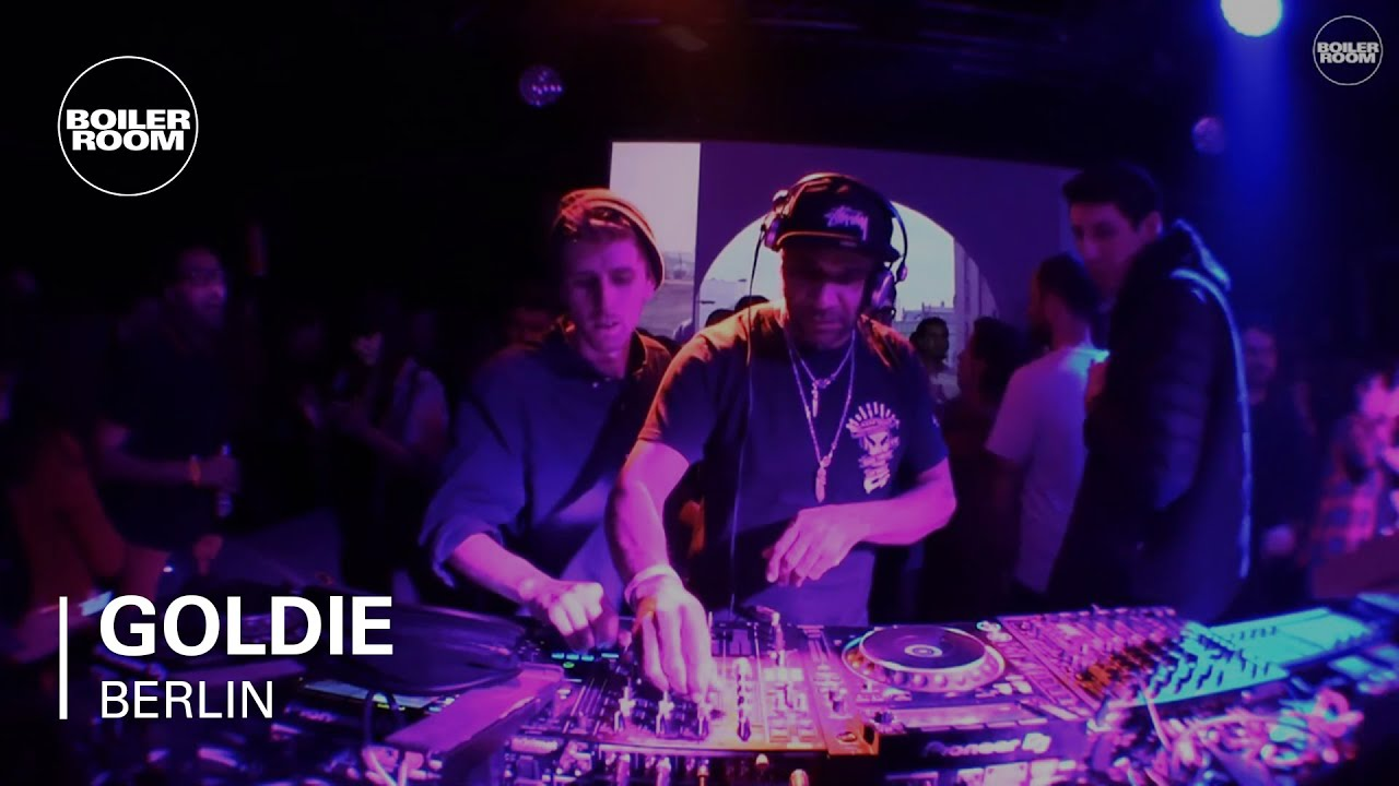 Goldie - Live @ Trainspotting Rave Berlin 2017