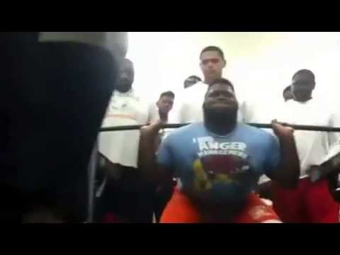 WilliamRichardson - At Sam Houston High School Weight Room P.S. I'm a Junior Check Out My Football Highlights At http://www.hudl.com/athlete/1577347/#highlights/34869374.