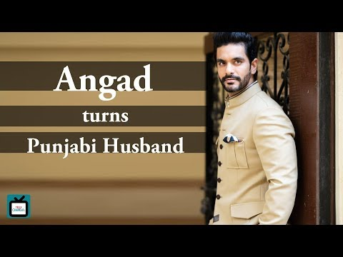 Angad Bedi as a Punjabi husband reacts to wife's r