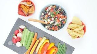 Superfood Sweet & Spicy Salsa to Slim Your Waistline | Glow by POPSUGAR Food