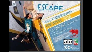 Escape - Campionato per tutti 2018 by Bouldering TV