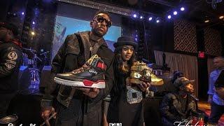 "Fabolous & Teyana Taylor's Packer Shoe ""Fame And War"" Release"