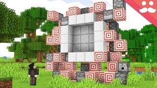 Redstone... But only using Target Blocks