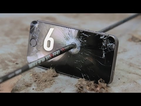 Display - iPhone 6 Sapphire Display Destruction! Sapphire Video Playlist: http://www.youtube.com/playlist?list=PLBsP89CPrMeNqUxlkmepUQi8WRdvKJ-n6 Subscribe for my iPhone 6 Review! Special thanks...