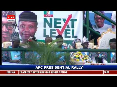Lagosians Troop Out En-Mass As Buhari Campaigns In Lagos Pt.5 |Live Event|