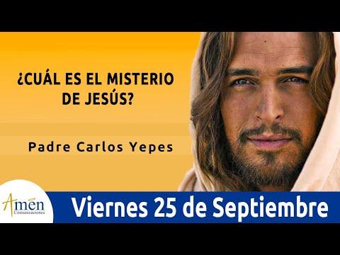 Evangelio De Hoy l Viernes 25 Septiembre 2020 l San Lucas 9, 18-22 l Padre Carlos Yepes