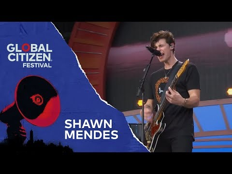 Video Shawn Mendes Performs In My Blood | Global Citizen Festival NYC 2018 download in MP3, 3GP, MP4, WEBM, AVI, FLV January 2017
