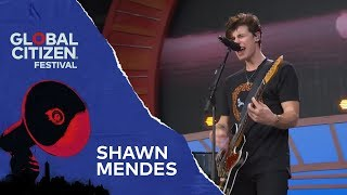 Shawn Mendes Performs In My Blood | Global Citizen Festival NYC 2018