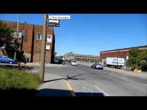 WALKING RUE BELLECHASE IN MONTREAL'S ROSEMONT BOROUGH / 06-11-18