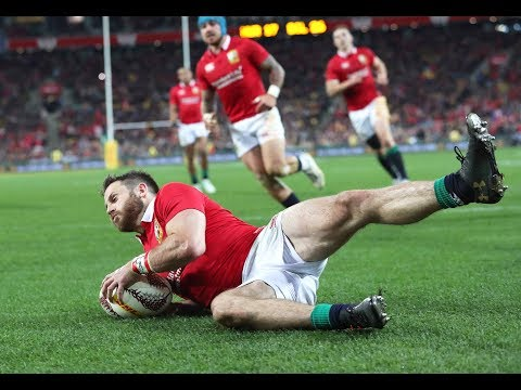 Tommy Seymour scores after Lions pressure | Lions NZ 2017 (видео)