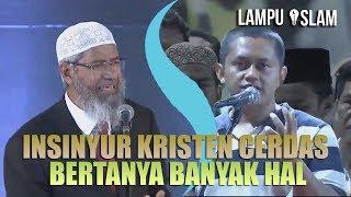 Video INSINYUR KRISTEN CERDAS BERTANYA BANYAK HAL TENTANG ISLAM | DR. ZAKIR NAIK MP3, 3GP, MP4, WEBM, AVI, FLV Oktober 2017