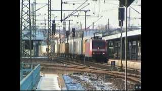 """""""Moderne"""" Eisenbahn zum neuen Jahr 2003 in und um Gotha"""