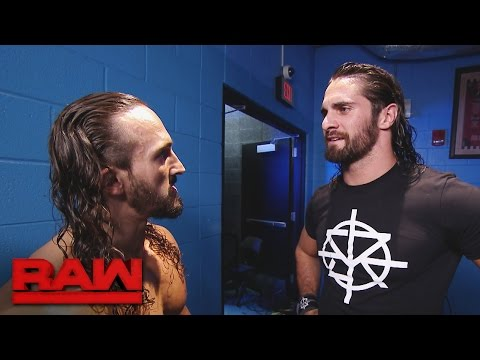 Video Seth Rollins hunts for The Demon King: Raw, Aug. 15, 2016 download in MP3, 3GP, MP4, WEBM, AVI, FLV January 2017