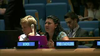 Dapthne Cuevas's intervention at the HLPF 2015: http://webtv.un.org