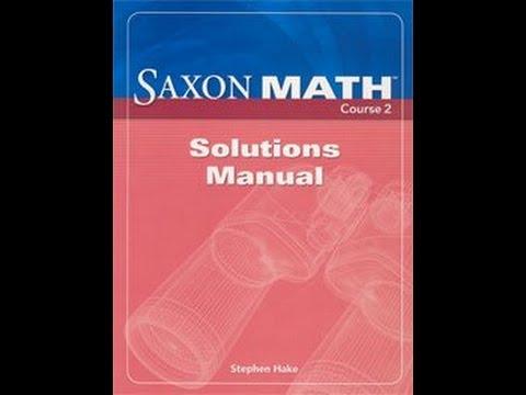Saxon Math Course 2 Pdf - XpCourse