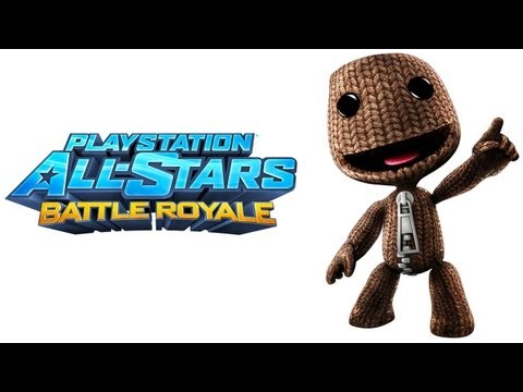 PlayStation All Stars Battle Royale Walkthrough - Part 1 Sackboy Story Little Big Planet Series