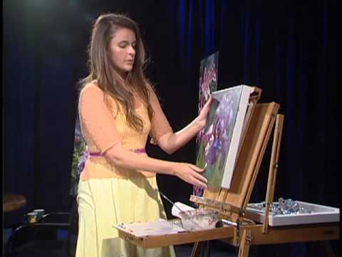 flower painting - Tara Norwood describes her metaphoric flower paintings and demonstrates her teaching process designed to each any dedicated student how to paint realisticall...