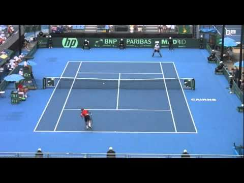 Copa Davis: Bélgica vs Australia - Olivier Rochus vs Peter Luczak