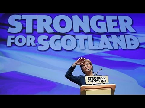 Νέο δημοψήφισμα για την ανεξαρτησία της Σκωτίας ανακοίνωσε η Νίκολα Στέρτζον